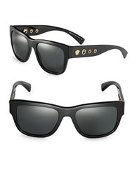 Versace 59Mm Square Sunglasses Ve4319 Black