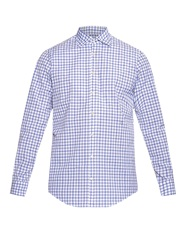 Massimo Alba Genova Checked Cotton Shirt