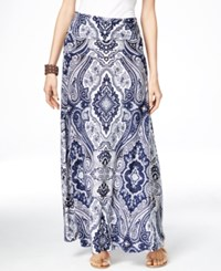 Inc International Concepts Printed Convertible Maxi Dress Only At Macy's Couture Paisley