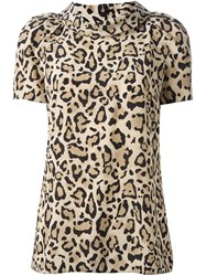 Gucci Leopard Top Nude And Neutrals