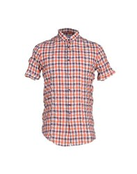 Aglini Shirts Shirts Men Orange