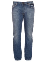 Valentino Rockstud Side Trim Slim Fit Jeans Indigo