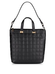 Steve Madden Bree Quilted Tote Black