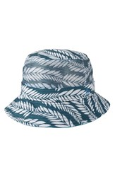 Men's Original Penguin Palm Print Bucket Hat Mediterranean