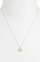 Ippolita 'Stardust Flower' Diamond And 18K Gold Pendant Necklace Yellow Gold