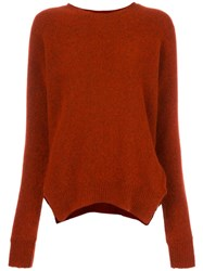Forte Forte Oversized Jumper Red