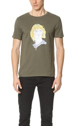 Wait Patrick Tee Army Green