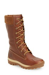 Timberland Women's 'Woodhaven' Waterproof Lace Up Boot Wheat Leather