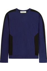 Pringle Two Tone Cashmere And Silk Blend Sweater