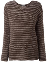 Iris Von Arnim 'Brixton' Sweater Brown