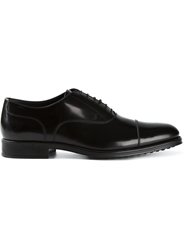 Tod's Classic Oxford Shoes Black