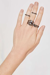 Nasty Gal Son Of A Gunmetal 5 Pc Ring Set