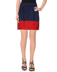 Maurizio Pecoraro Skirts Mini Skirts Women Dark Blue