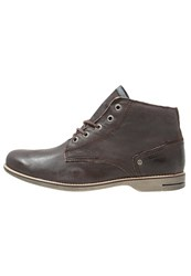 Sneaky Steve Crasher Laceup Boots Brown Jamarta Dark Brown