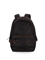 Superdry True Montana Contrast Stitched Backpack Black