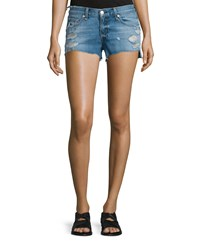 Rag And Bone Rag And Bone Jean Cutoff Distressed Denim Shorts Gunner Size 26