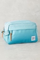 Anthropologie Ombre Cosmetic Case Blue