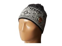 Dale Of Norway Fjord Hat Dark Charcoal Cream Smoke Knit Hats Black