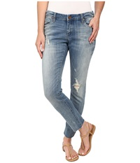 Blank Nyc Denim Crop In Blue Blue Women's Jeans