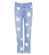Stella Mccartney Tomboy Star Boyfriend Fit Jeans Blue
