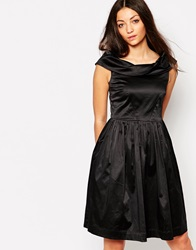 Emily And Fin Emily And Fin Norma Off The Shoulder Dress Black