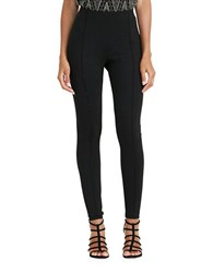 Lauren Ralph Lauren Seamed Ponte Leggings Black