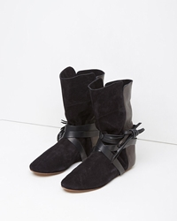 Isabel Marant Nira Flat Boot Black