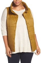 Eileen Fisher Plus Size Women's Channel Quilted Vest