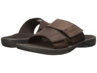Vionic With Orthaheel Technology Jon Brown Men's Sandals
