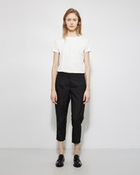 Jil Sander Tommy Cropped Trouser Black