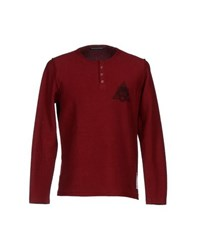 Phonz Says Black Topwear Sweatshirts Men Maroon