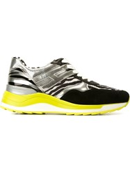 Hogan Rebel Zebra Print Sneakers Black