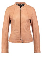 Oakwood Leather Jacket Light Orange