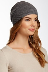 14Th And Union Basic Cashmere Beanie Gray