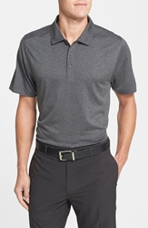 Cutter And Buck 'Chelan' Drytec Polo Charcoal Heather