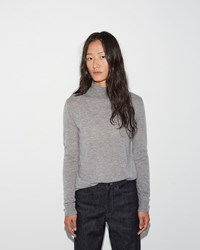 Moderne Portrait Turtleneck Pewter