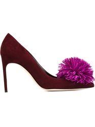 Brian Atwood 'Alis' Pumps Red