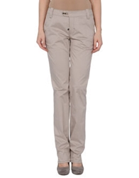 Dek'her Casual Pants Light Grey