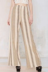 Nasty Gal After Party Vintage Slither Wide Leg Pant