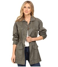 Sanctuary Tash Parka Jacket Military Women's Coat Olive