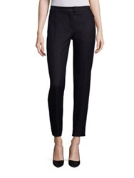 Escada Tweed And Jersey Pants Black