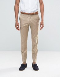 Selected Homme Suit Trousers In Sand Stone