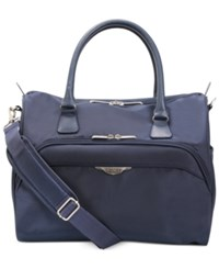 Ricardo Big Sur 16' Satchel Only At Macy's Indigo Navy