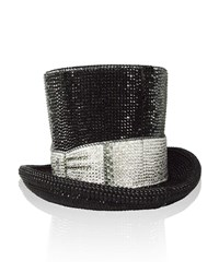 Judith Leiber Topper Crystal Top Hat Minaudiere Jet Multi Women's Jet Multi