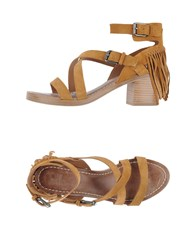 Belle By Sigerson Morrison Footwear Sandals Women Tan