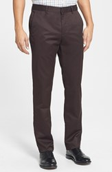 Men's Big And Tall Bonobos 'Weekday Warrior' Non Iron Slim Fit Cotton Chinos Tuesday Black Coffees