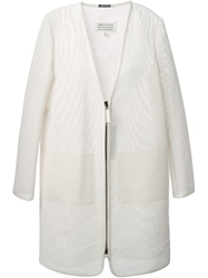 Maison Martin Margiela Oversize Transparent Coat White