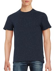 Bench Logo Stretch Cotton Tee Total Eclipse