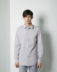 Maison Martin Margiela Line 10 Garment Dyed Shirt Pale Grey