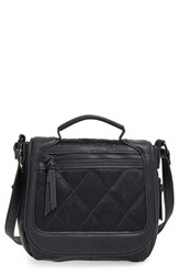 Big Buddha Faux Leather Crossbody Flap Bag